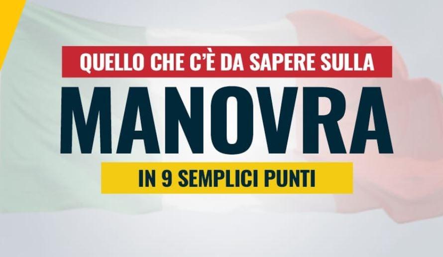 MANOVRA M5S NOVE PUNTI