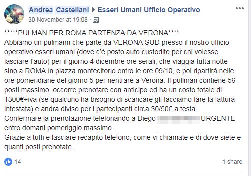 andrea castellani pappalardo rivoluzione gilet gialli roma - 1