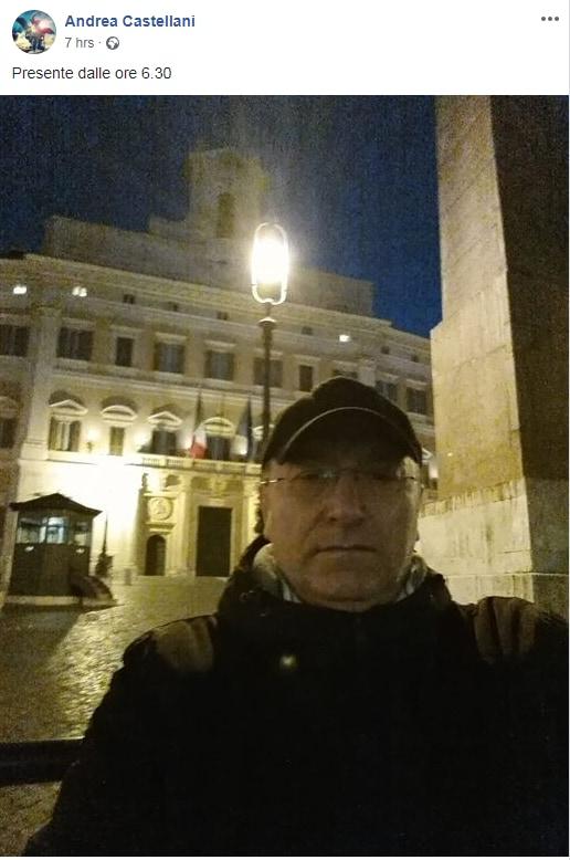 andrea castellani pappalardo rivoluzione gilet gialli roma - 6
