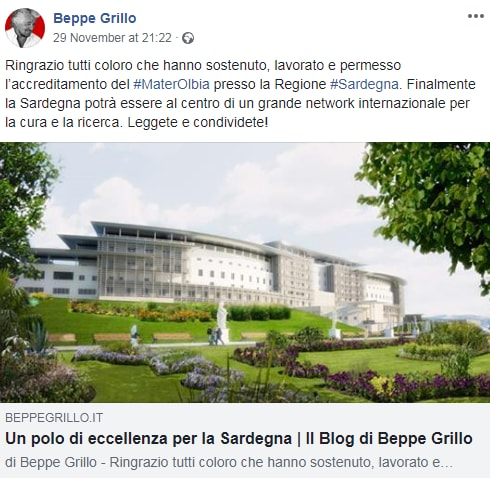 beppe grillo mater olbia - 5