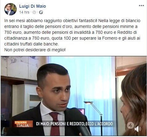 di maio salvini clausole iva - 1