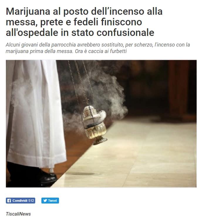 incenso marijuana chiesa chieti bufala - 4