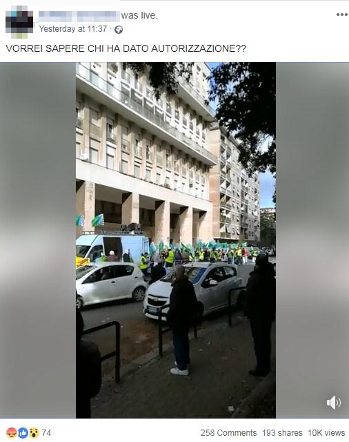 manifestazione musulmana roma contro natale - 2