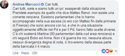 marcucci renziani martina giachetti - 2