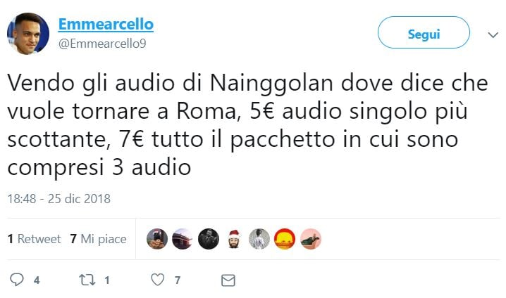 nainggolan audio fake