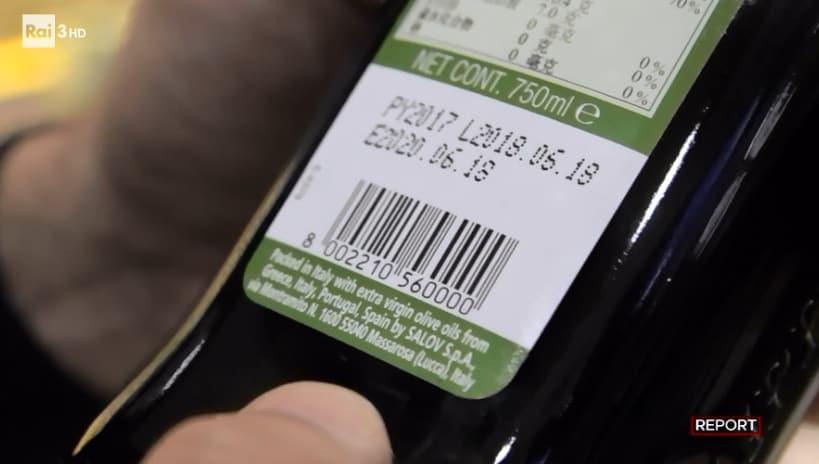 olio extra vergine d'oliva report - 2