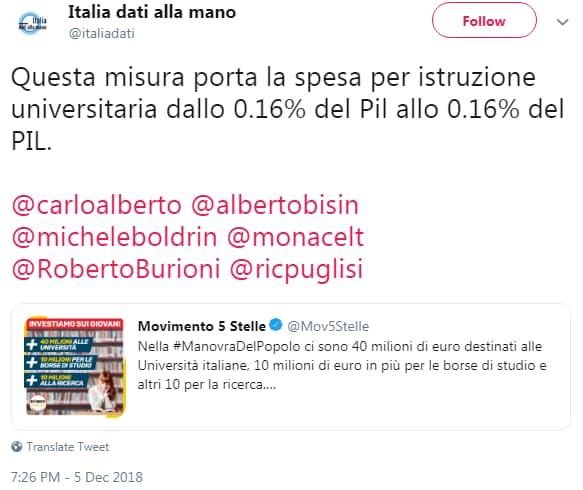 paola taverna 40 milioni università - 8