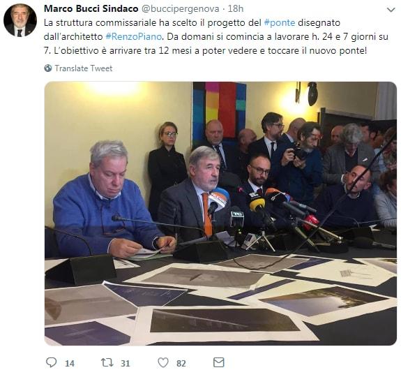 ponte morandi progetto renzo piano bucci toninelli - 2