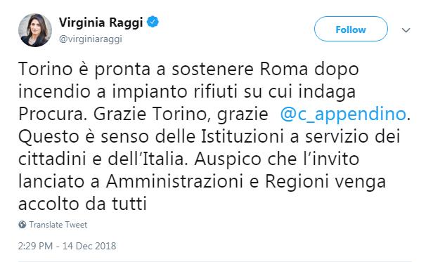 raggi appendino termovalorizzatore rifiuti roma inceneritore -1