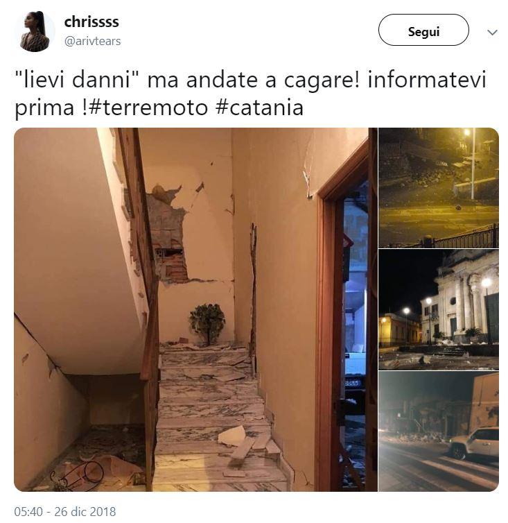 terremoto catania danni