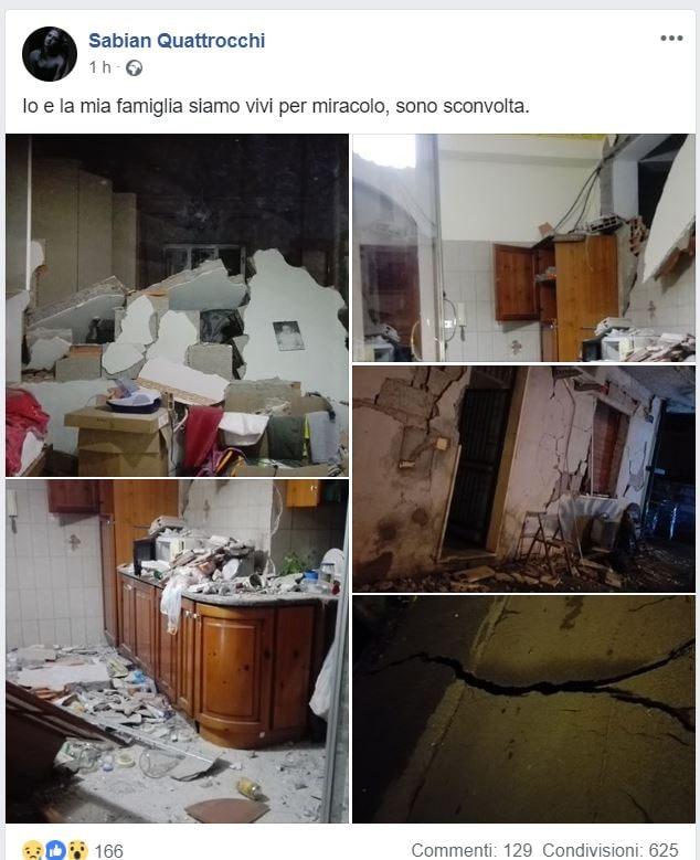 terremoto catania nord