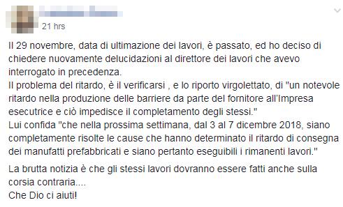 viadotto magliana lavori restringimento - 5