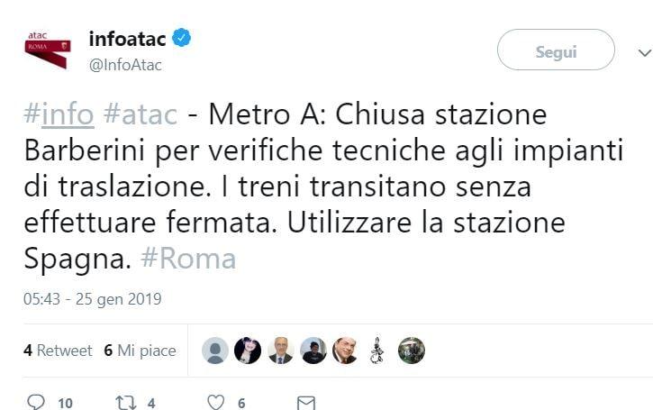 ATAC METRO BARBERINI