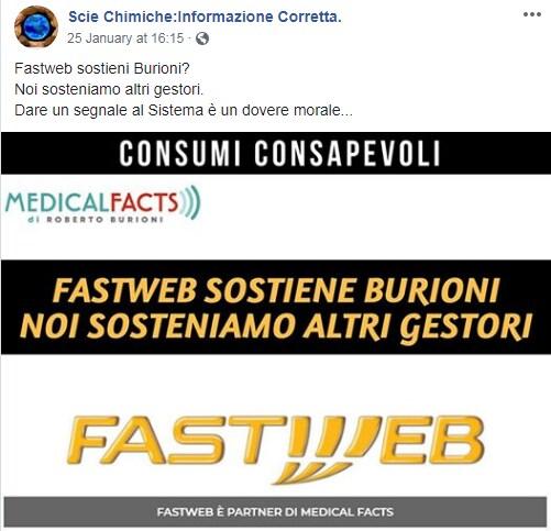 antivaccinisti burioni fastweb boicottaggio - 5