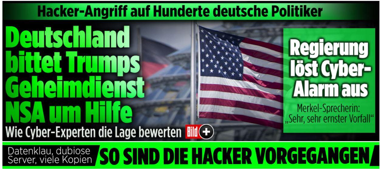 attacco hacker germania