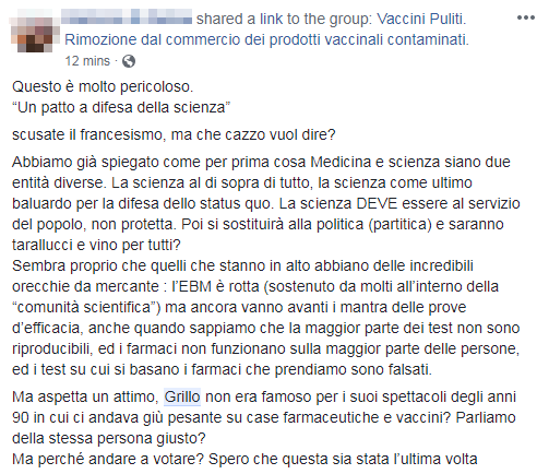 beppe grillo patto per la scienza burioni - 5
