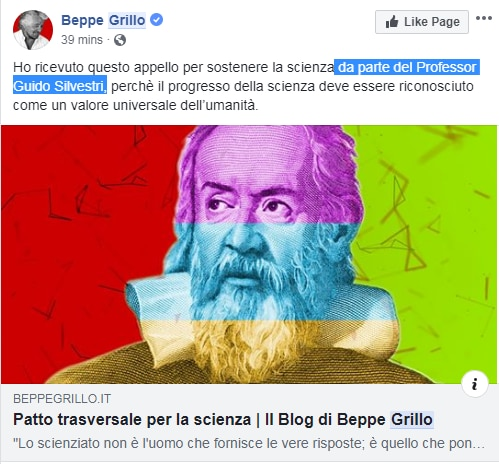 beppe grillo patto per la scienza burioni - 9