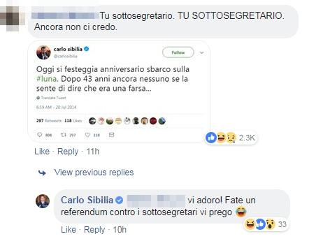 carlo sibilia renzi lino banfi sondaggi - 4