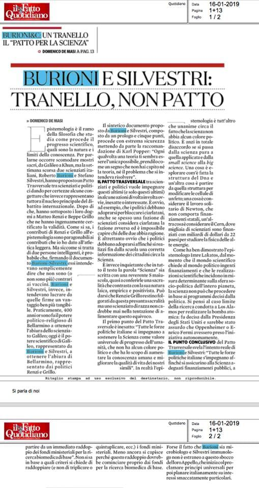 de masi patto scienza fatto quotidiano 1