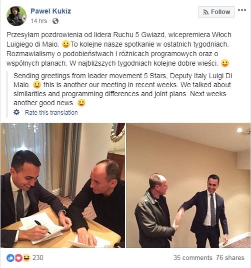 di maio Pawel Kukiz Kukiz'15 europee fascisti - 1