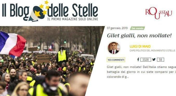 Gilet gialli: 50 mila i manifestanti in tutta la Francia