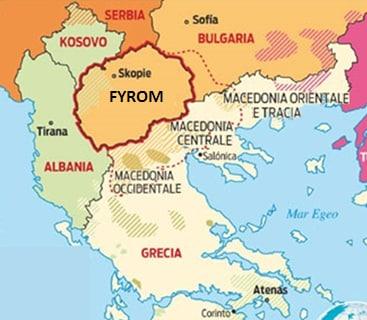 fyrom macedonia