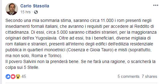 reddito cittadinanza rom stasolla - 1