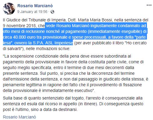 rosario marcianò arresto 40mila euro carcere - 2