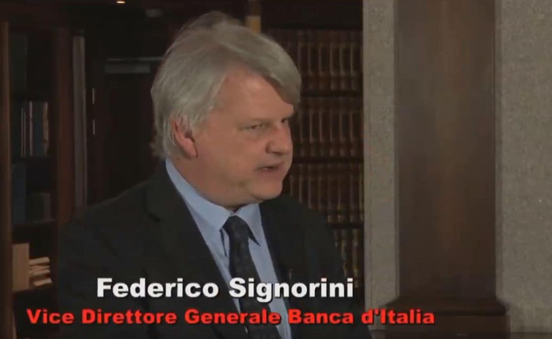 Luigi Federico Signorini bankitalia