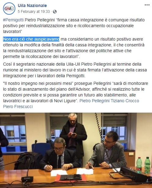 di maio pernigotti crisi sindacati lavoratori licenziati - 2