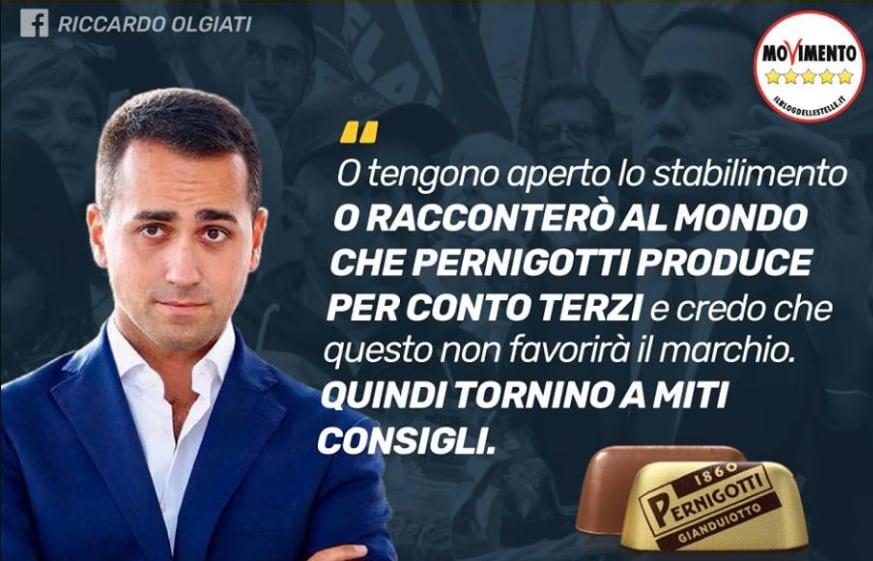 di maio pernigotti licenziamenti - 7