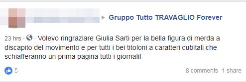 giulia sarti m5s rimborsopoli fidanzato grillini - 2