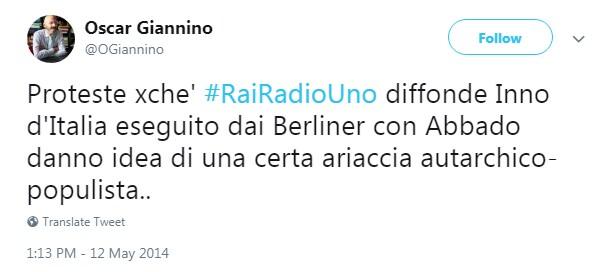 inno nazionale berliner abbado rai foa sovranismo - 1