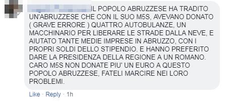 m5s grillini abruzzo regionali sconfitta - 15