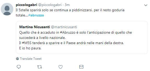 m5s grillini abruzzo regionali sconfitta - 2