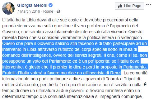meloni guerra libia francia macron - 10
