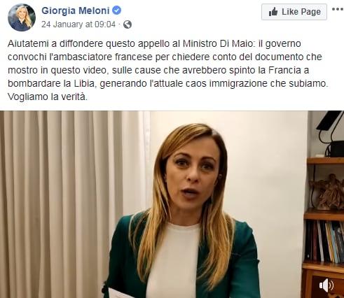 meloni guerra libia francia macron - 6