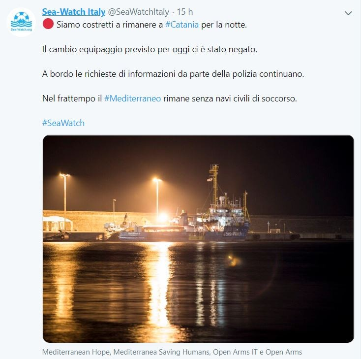 sea watch guardia costiera