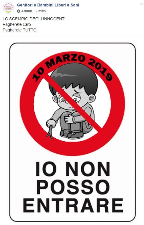 11 marzo vaccini esclusione scuole - 1