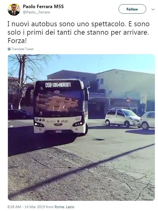 atac bus noleggio usati israele raggi roma ferrara - 2