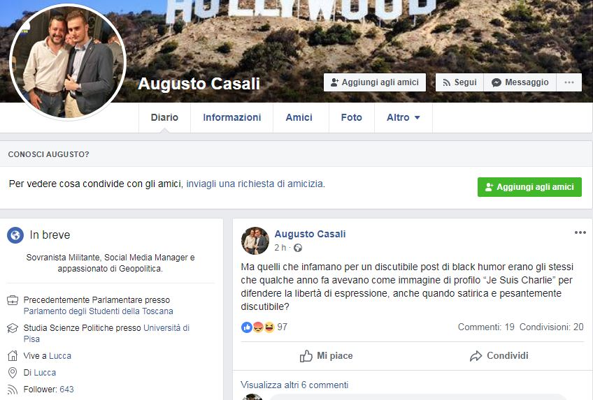 augusto casale bambini down facebook twitter 2