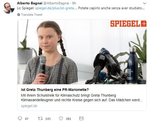 bagnai greta thunberg asperger - 7