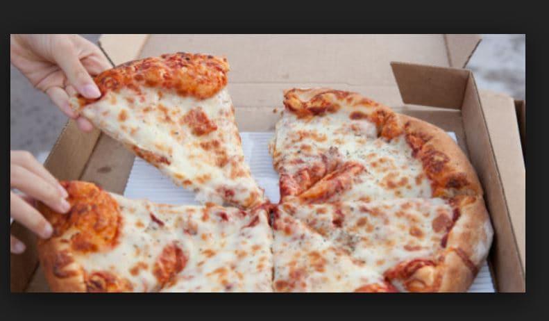 Pizza, il cartone potrebbe essere tossico: cosa controllare