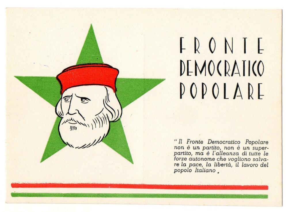 fronte democratico popolare