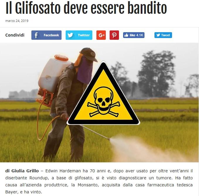 giulia grillo glifosate glifosato - 2