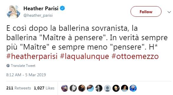 lorella cuccarini razzismo italia otto e mezzo - 3