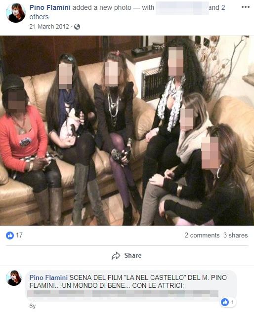 pino flamini arresto attrici stupro - 4