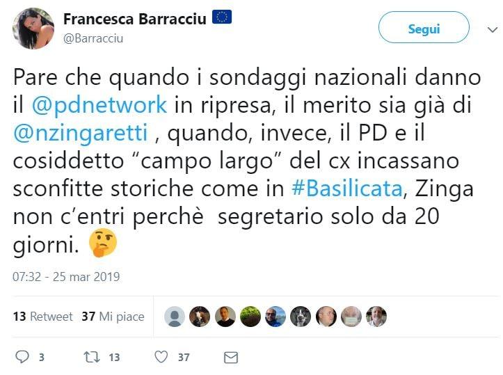 renziani zingaretti basilicata