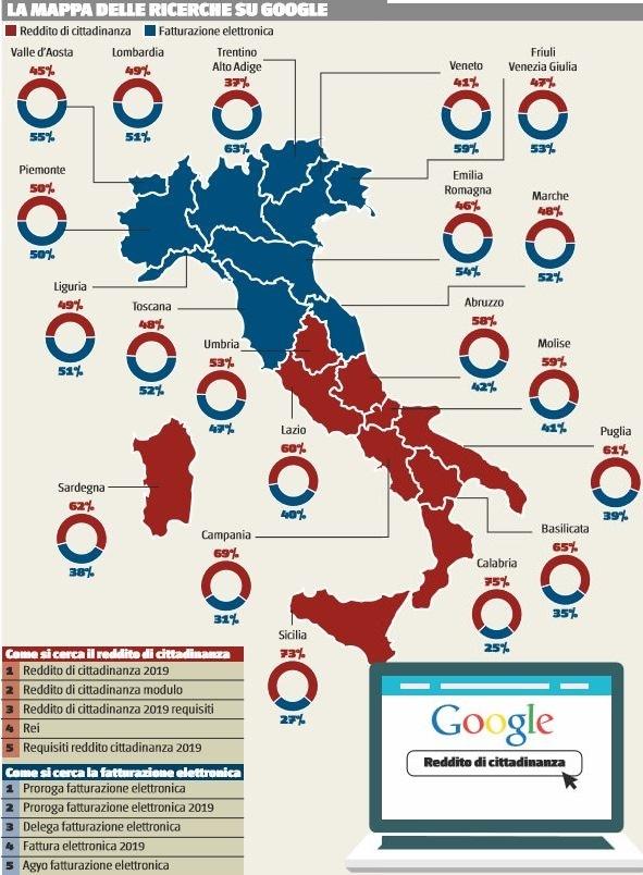 ricerche google reddito di cittadinanza 1