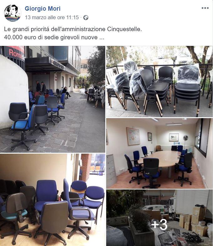 sedie XV Municipio